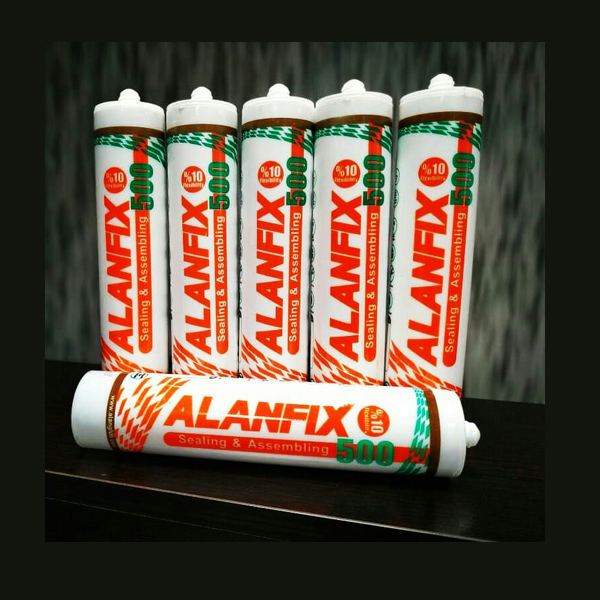چسب سیلیکونایزماستیک ALAN FIX500