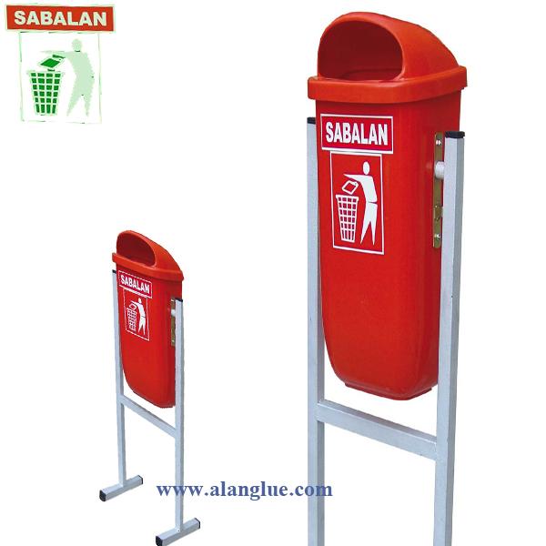 سطل زباله 50 لیترسبلان پلاستیک مدل پاندولی