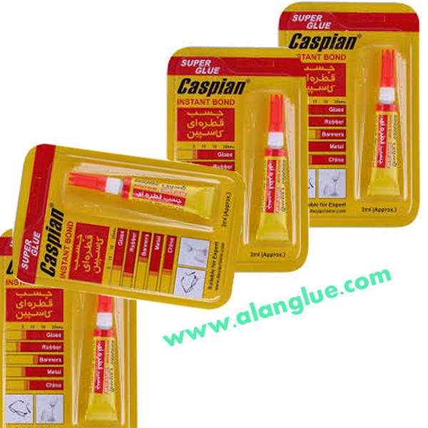 چسب قطره ای کاسپین caspain