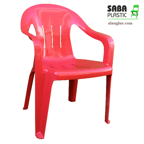 صندلی پلاستیکی مدل دسته دارخطی صبا