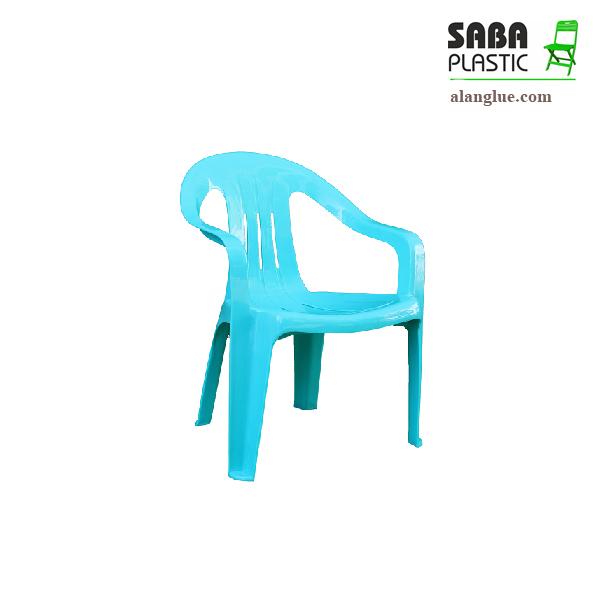 صندلی پلاستیکی نوجوان صبامدل دسته دار