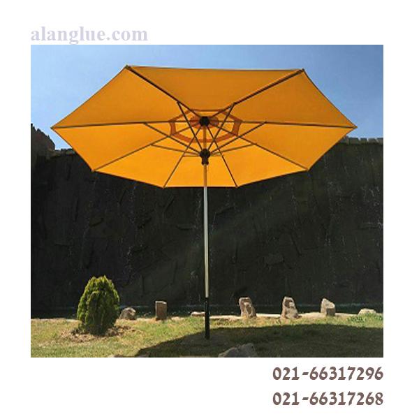 چتر هشت ضلعی استنلس استیل صباپلاستیک