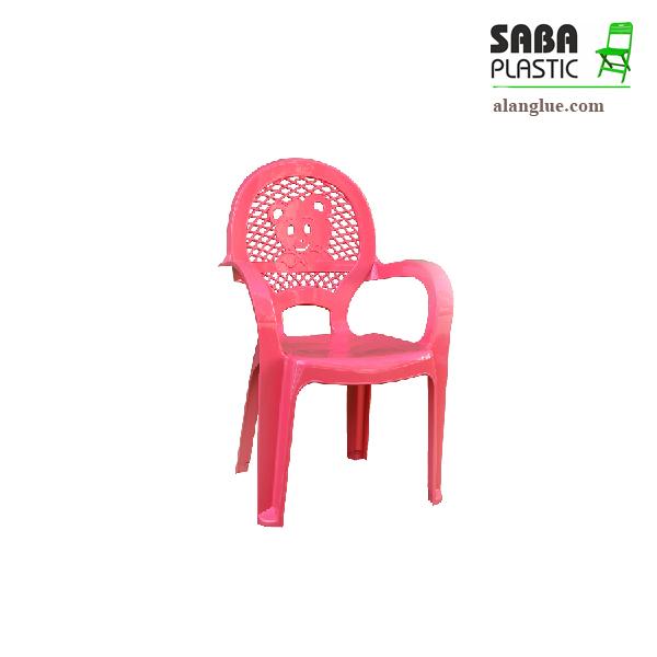 صندلی پلاستیکی کودک دسته دارصبا