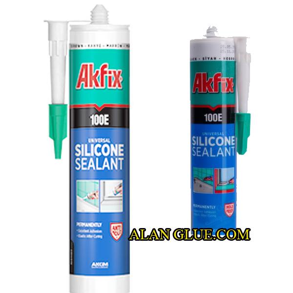 چسب سیلیکونی جهانی آک فیکس AKFIX