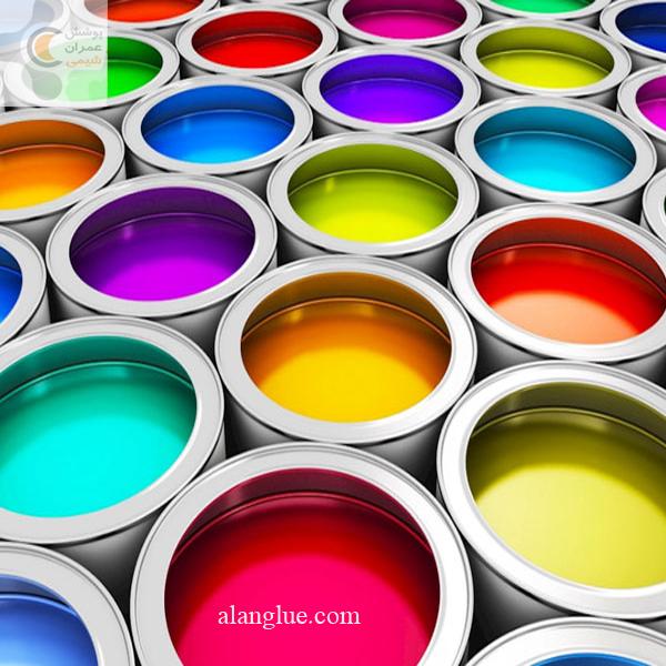 رنگ جدولی صنایع پوشش عمران شیمی