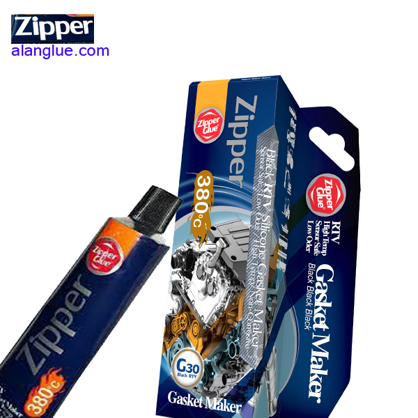 چسب مشکی واشر ساز حرارتی زیپرZipperG30