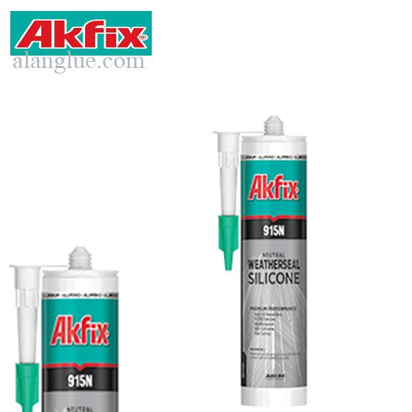چسب درزگیرسیلیکونی آکفیکس مدل AKFIX915N