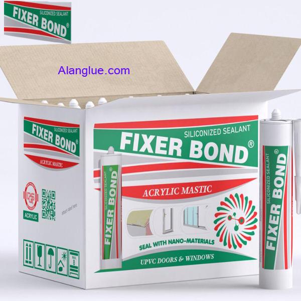 چسب ماستیک اکریلیک سیلیکونی فیکسرباندFIXERBOND