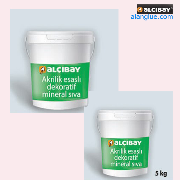 ملات دکوراتیو آماده آلچیبای alcibay